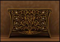 3d chest dresser