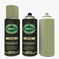 Bottle Of Perfume Brut