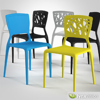 viento chair bonaldo 3d model