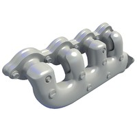 3d 3ds exhaust manifolds