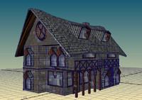 maya medieval half timbered