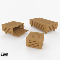 3d coffee table outdoor falsterbo