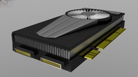 3d piece video card
