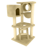 3d 3ds cat tree
