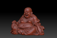 buddha enlightened 3d model