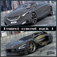 3d model 2 peugeot concept cars