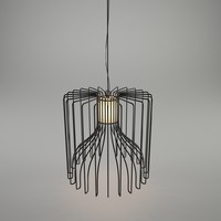 3d model of icaro ceiling lamp modo