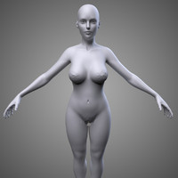 obj female body