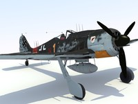 FW 190 a-8 Night Fighter