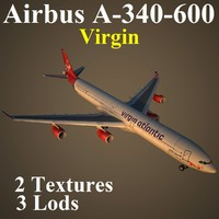 airbus vir 3d model