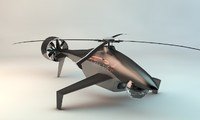 uav drone helicopter c4d