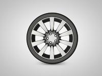 3ds car rim 7