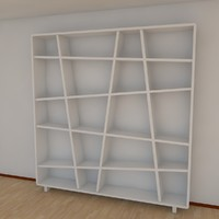 3ds max 10 bookshelf 2011