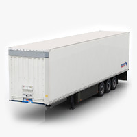 3d schmitz cargobull trailer