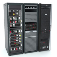 max server rack hp