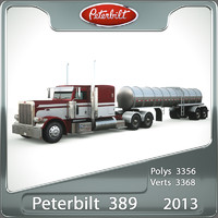 Peterbilt 389 (2013) Tanker Trailer