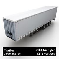 Trailer Cargo Box Tent