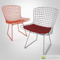 bertoia chair 3d model