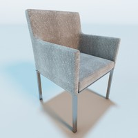 3d garden armchair model