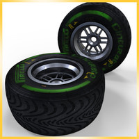 2013 F1 Pirelli tire Intermediate