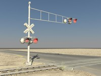Rail Road Crossing Lights