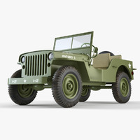 3d max jeep willys