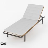haringe skargaarden deck chair 3d x