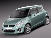 3d 2013 suzuki swift