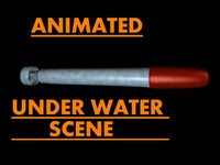 c4d torpedo water scene