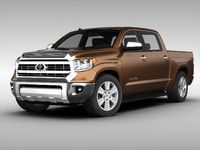3d model toyota tundra 2014