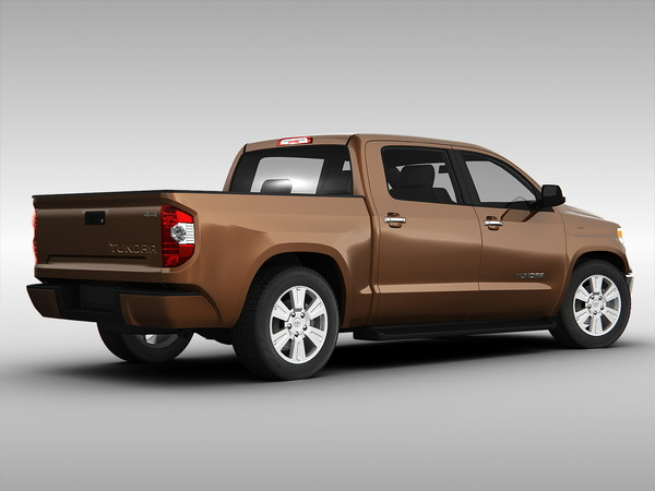 3d model toyota tundra 2014. Black Bedroom Furniture Sets. Home Design Ideas
