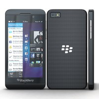 3ds max blackberry z10 black cellphone