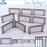 Iron Railings Fence 6