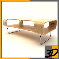 ikea buksbo table 3d 3ds