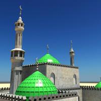 3dsmax arab mosque