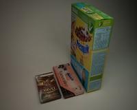 3d model cereal box