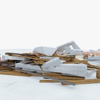 3d construction debris 1
