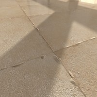 3d tile catania beige 44x44 model