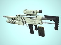 3ds max rifle vector x2