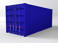 ISO Container Flat Sides 20 Foot