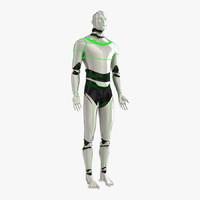 robot man bot 3d model