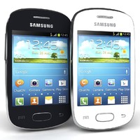 Samsung Galaxy Star S5280 Black And White