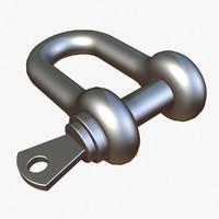 3d shackle model
