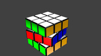 rubik cube 3d 3ds