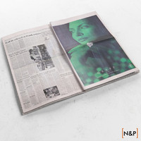 3d newspaper 2 model