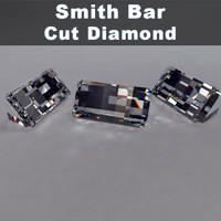 smith bar cut diamond 3d model