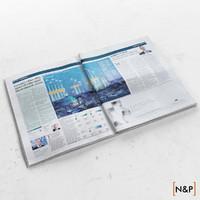 newspaper 3d max