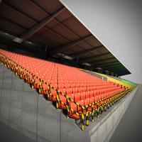 stadium auditorium-track grandstand
