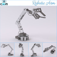 3d robotic mechanical arm model