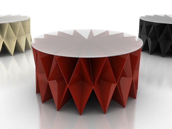 3d model coffee table colletto - Coffee table Colletto... by mr.zorgh